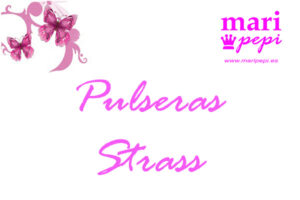Pulseras strass